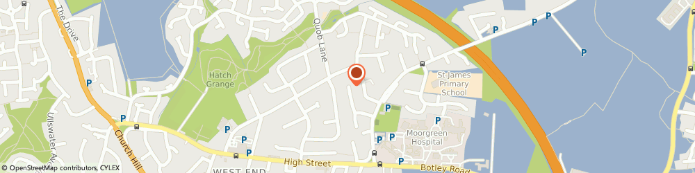 Route/map/directions to Andy Owens Tiling, SO30 3JU Southampton, 2 Princess Close