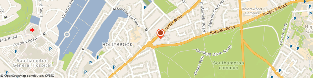 Route/map/directions to Post Office Limited, SO16 7DJ Southampton, 363 Winchester Road