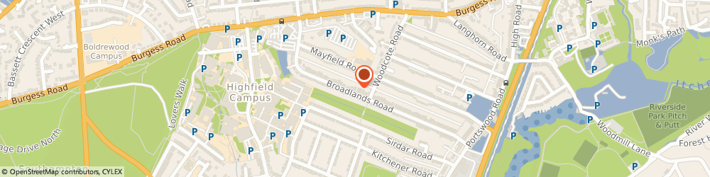 Route/map/directions to PhysioPol, SO17 3AS Southampton, 178 Broadlands Rd
