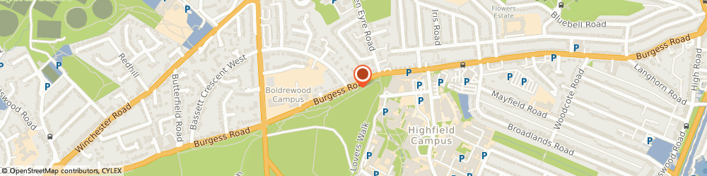 Route/map/directions to Park Veterinary Surgery, SO16 7PP Southampton, 84 Burgess Road