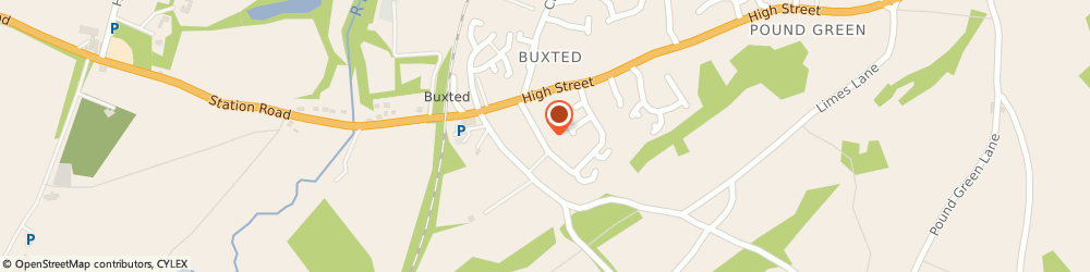 Route/map/directions to Tilly & Jasper Ltd, TN22 4LG Buxted, 9 Gordon Rd