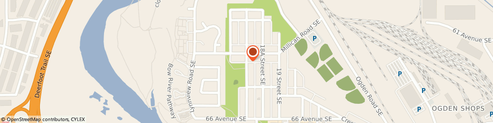 Route/map/directions to Texture Craft Drywall & Plaster Ltd, T2G 3M9 Calgary, 4321 15 St SE