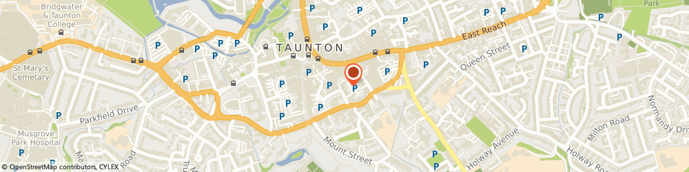 Route/map/directions to Beautylicious, TA1 3PF Taunton, Cheyne Walk, Paul St