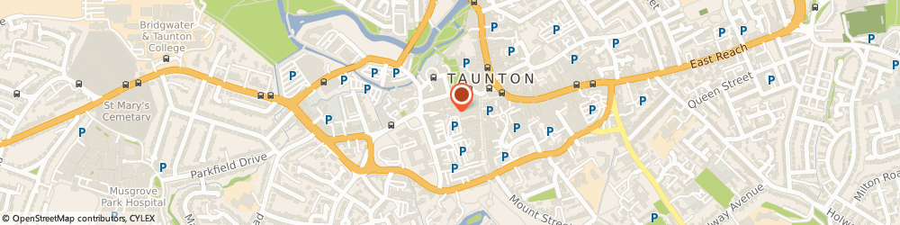 Route/map/directions to Beauty Worx, TA1 4ER Taunton, 12A Bath Pl