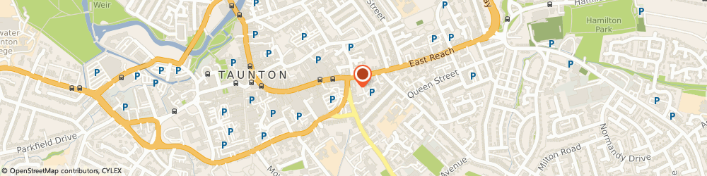 Route/map/directions to Pixelink Ltd, TA1 3DH Taunton, 9 Sliver Street