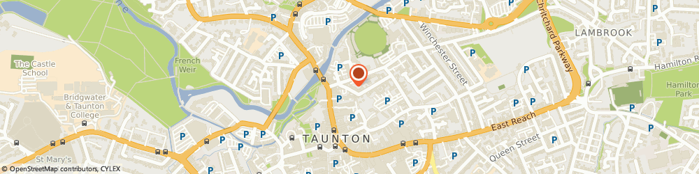 Route/map/directions to Avis, TA1 1JR Taunton, 37 St James Street