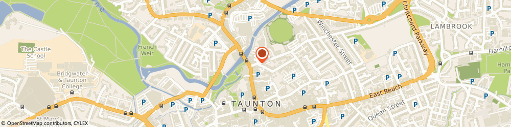 Route/map/directions to Pink Modelling, TA1 1JR Taunton, 37 JAMES STREET