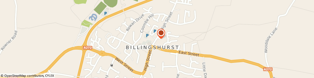 Route/map/directions to Cocos Hairdressers, RH14 9PP Billingshurst, 39 HIGH STREET