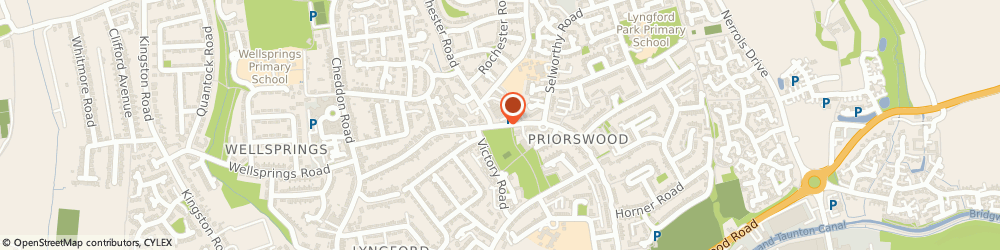 Route/map/directions to Co-op Food TAUNTON, TA2 7JW Taunton, 6-8 Priorswood Place, Eastwick Road