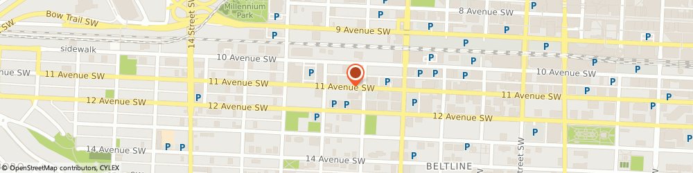 Route/map/directions to Mobile Mechanic Calgary, T2R 0G1 Calgary, 1029 11 Ave SW
