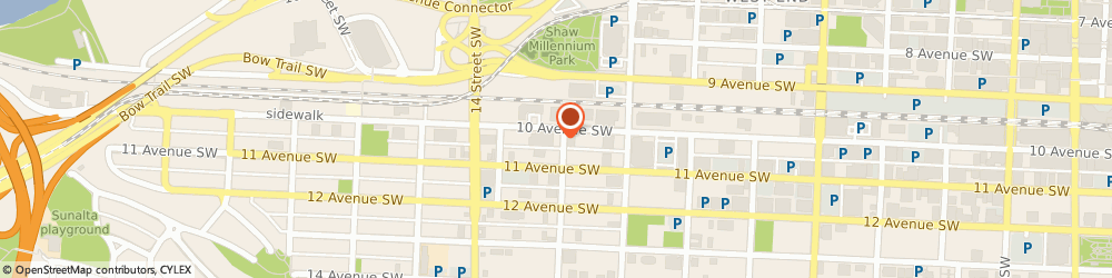 Route/map/directions to Monki Breakfastclub & Bistro, T3C 0J4 Calgary, 1301 10 Ave SW