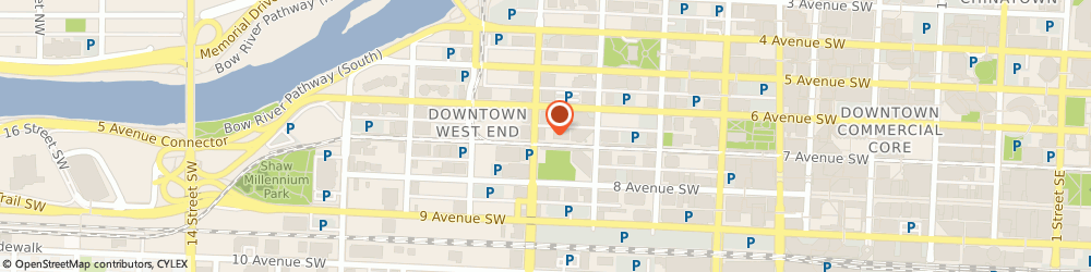 Route/map/directions to Two Hands in Motion Massage Therapy, T2P 3J3 Calgary, 888 7 AVE SW