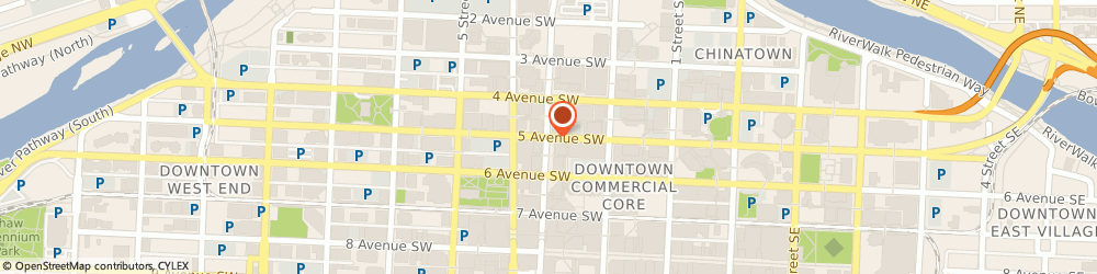 Route/map/directions to In Focus Technical Services Ltd, T2P 3E6 Calgary, 505 3 STREET SW