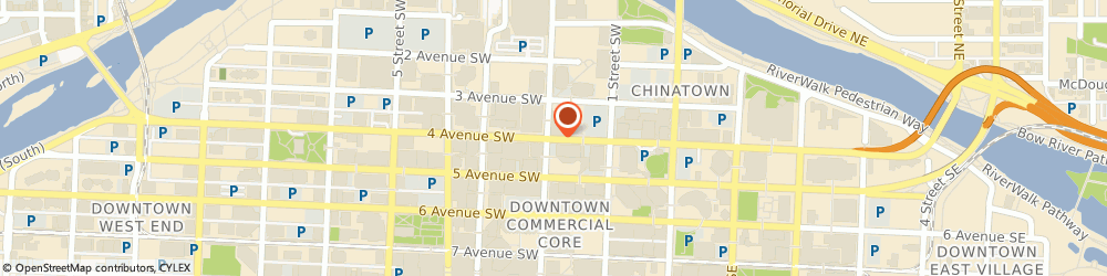 Route/map/directions to HealthFare BP Tower Calgary, T2P 4H4 Calgary, 240 4 Avenue SW Suite 209