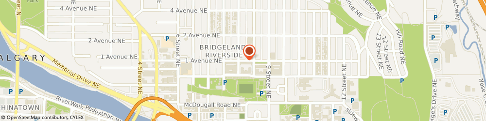 Route/map/directions to Active Physiotherapy & Wellness Centre, T2E 2L3 Calgary, 909 1 Ave NE