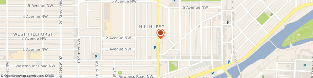 Route/map/directions to Frost Mortgages, T2E 7K6 Calgary, 1121 Centre St NW #110