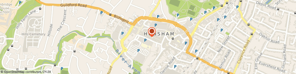 Route/map/directions to British Heart Foundation, RH12 1PB Horsham, 26/27 West Street
