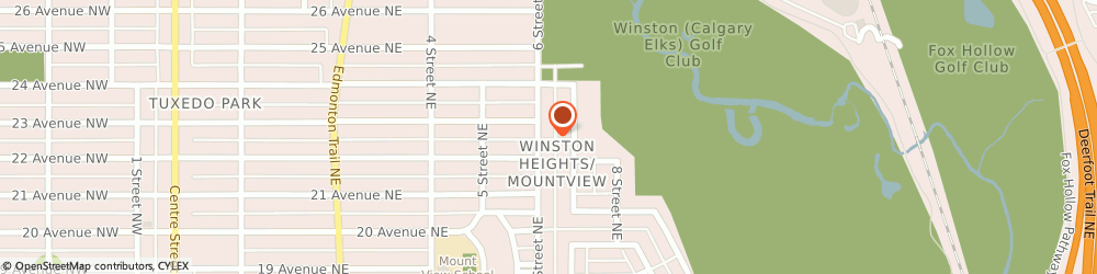 Route/map/directions to Verico CML Canadian Mortgage Lender Inc, T2E 3Z1 Calgary, 2316 6 Street NE