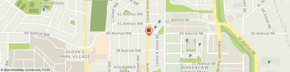 Route/map/directions to Tim Hortons, T2E 2Y4 Calgary, 4015 Centre St N