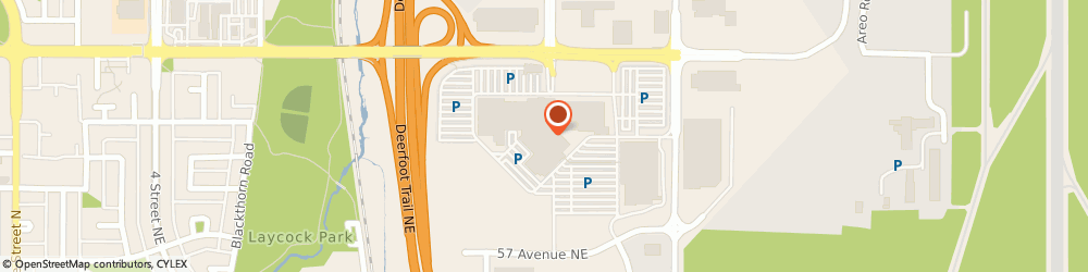 Route/map/directions to GoodLife Fitness Calgary Deerfoot City, T2E 7P4 Calgary, 901 64 Ave NE