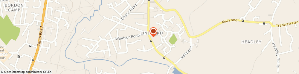 Route/map/directions to A3 Plumbing and Heating, GU35 0PX Bordon, 24A Liphook Rd