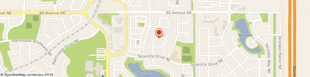 Route/map/directions to Superior Towing Service Ltd, T3J 4Y8 Calgary, 71 Tarawood Close NE