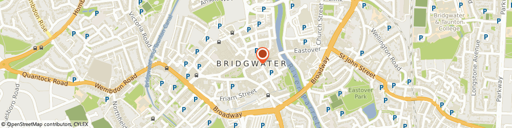 Route/map/directions to Costa, TA6 3BU Bridgwater, 12 Cornhill
