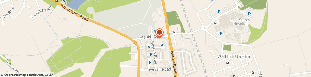 Route/map/directions to Surrey Photographic Co.ltd, RH1 5HE Redhill, 4-5/Maple Works Maple Road