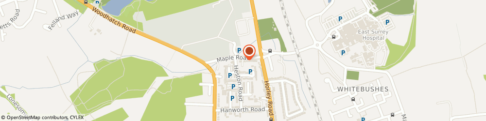 Route/map/directions to W i S Metal Products Ltd, RH1 5HE Redhill, 14A MAPLE ROAD