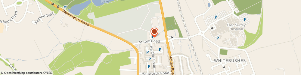 Route/map/directions to British Red Cross, RH1 5HE Redhill, Maple Road