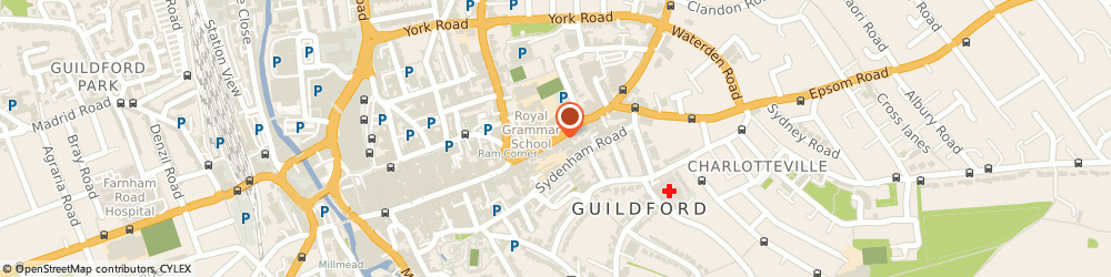 Route/map/directions to Tec7, GU1 3DP Guildford, 105-111 HIGH STREET