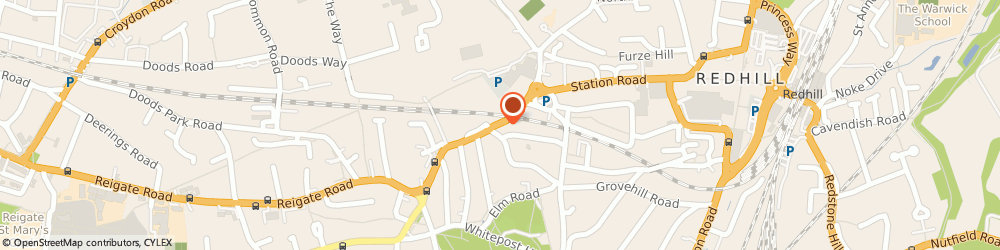 Route/map/directions to Jg Lighting, RH1 6AA Redhill, 9 Hatchlands Road