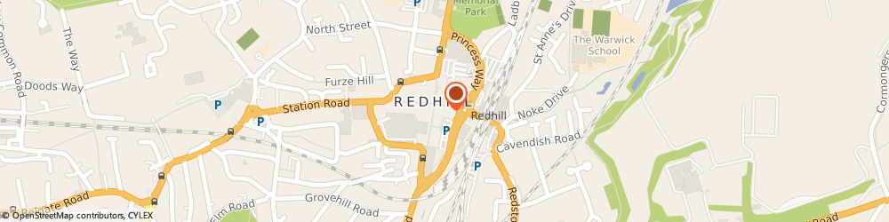 Route/map/directions to C & N Cycles, RH1 1PD Redhill, 32 Station Road