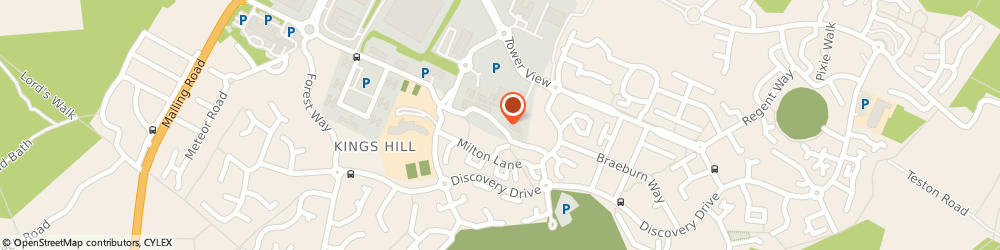 Route/map/directions to THEMYGROUP LIMITED, ME19 4JF Kings Hill, Kings Hill Medical Centre, Queen Street