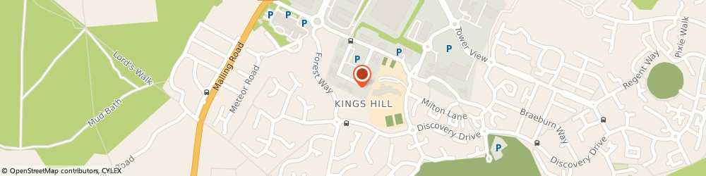 Route/map/directions to Prima Ardelle Associates, ME19 4YU Kings Hill, Suite 30, 40 Churchill Square