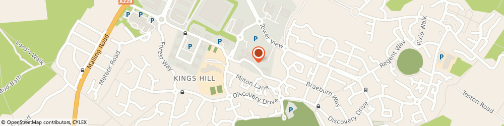 Route/map/directions to Kings Hill Recruitment, ME19 4DA Kings Hill, 21 Queen Street