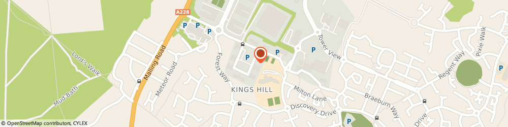 Route/map/directions to Mka Projects Ltd, ME19 4YU Kings Hill, 15/20 CHURCHILL SQUARE