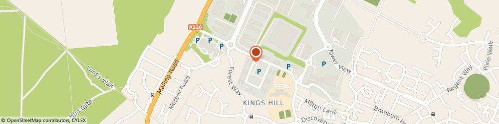 Route/map/directions to FM clinic, ME19 4YU Kings Hill, Suite 3, 70 Churchill Square