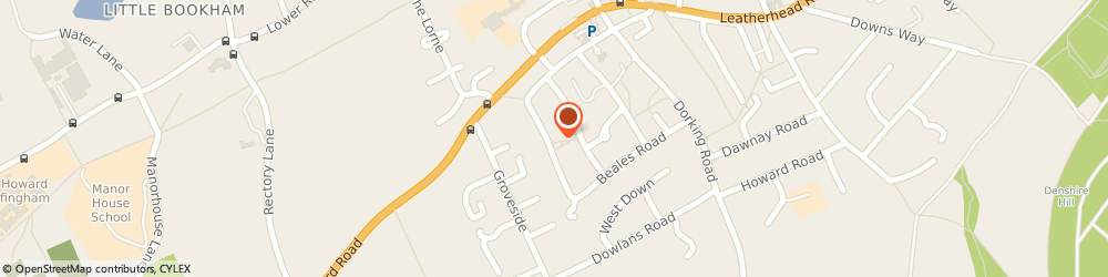 Route/map/directions to Kerry Hall, KT23 4NH Leatherhead, 21 NEWENHAM ROAD