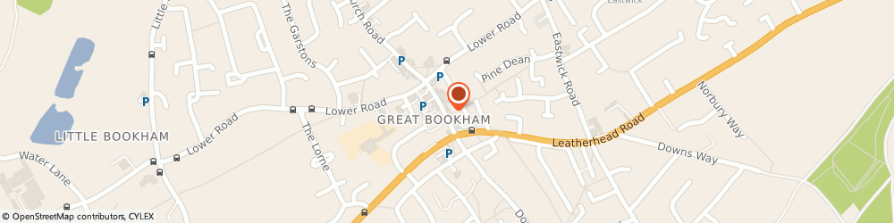 Route/map/directions to Annette Dean the Salon, KT23 4AD Leatherhead, 35 High Street