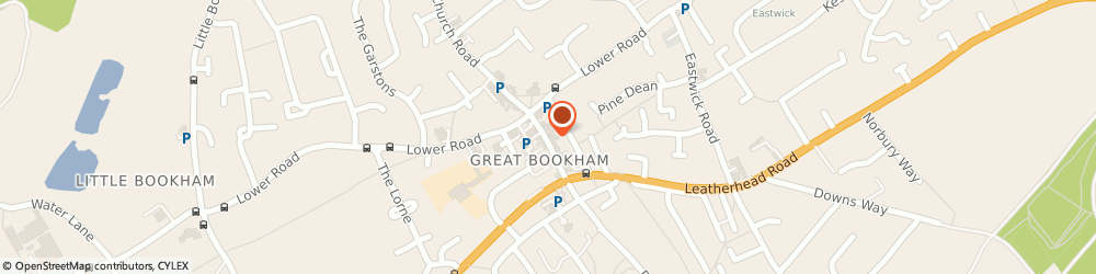 Route/map/directions to AVC Debt Recovery, KT23 4AA Bookham, 19 High St