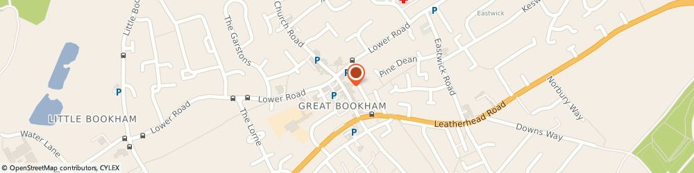 Route/map/directions to Bookham Pharmacy, KT23 4AA Bookham, 5 HIGH STREET