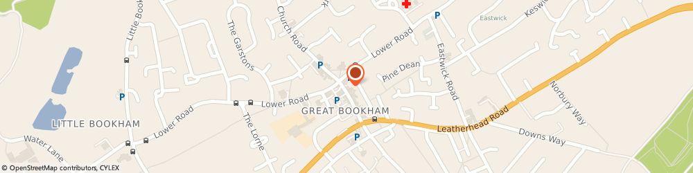 Route/map/directions to Boots Leatherhead Great Bookham, KT23 4AA Bookham, 5 High Street