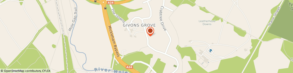 Route/map/directions to PAINE CONSULTING LIMITED, KT22 8LX Leatherhead, Ilex House The Downs