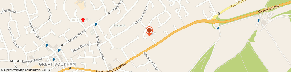 Route/map/directions to Keystone Retail Property Ltd, KT22 9HY Fetcham, 5 MILTON WAY