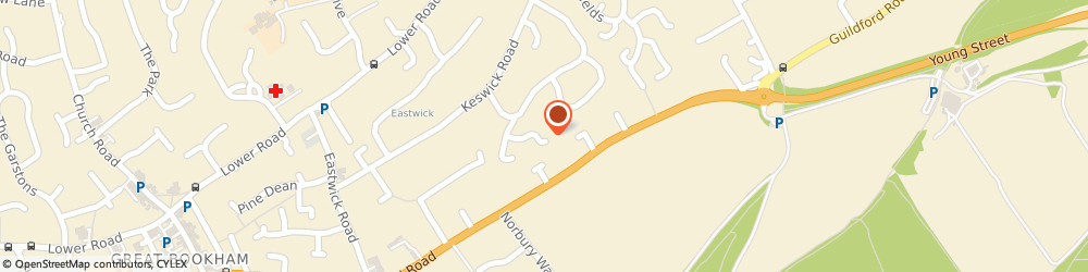 Route/map/directions to Canvas Property Partners Limited, KT22 9JT Fetcham, 5 BARRINGTON DRIVE