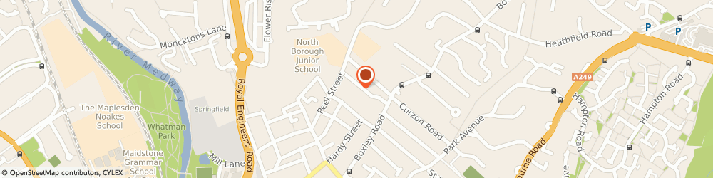 Route/map/directions to BL IT Solutions Ltd, ME14 2BJ Maidstone, Unit 7a