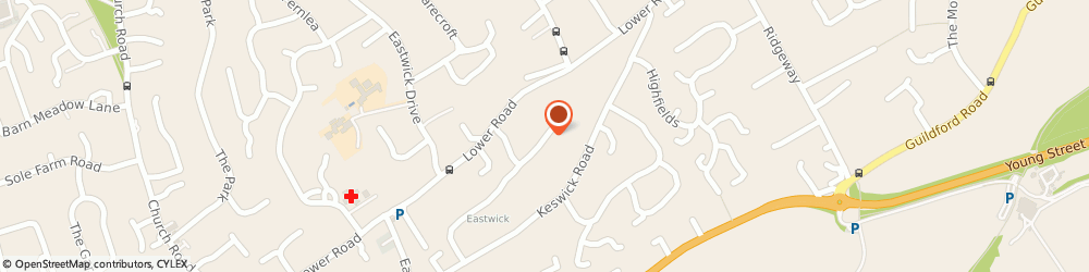 Route/map/directions to Pbforensics, KT23 4AJ Bookham, 52 Durleston Park Drive