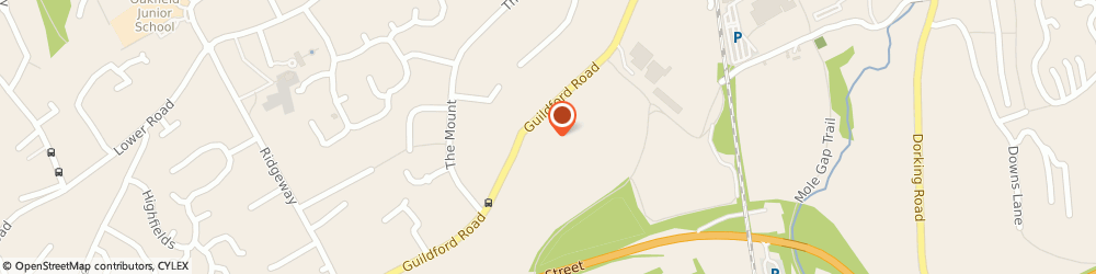 Route/map/directions to Hawks Hill House (Freehold) Limited, KT22 9GS Fetcham, 9 HAWKS HILL HOUSE, GUILDFORD ROAD