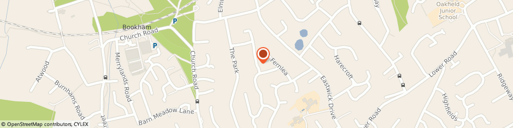 Route/map/directions to HOME COOKING BY ELIZABETH LIMITED, KT23 3LP Leatherhead, 5 Murrells Walk, Bookham